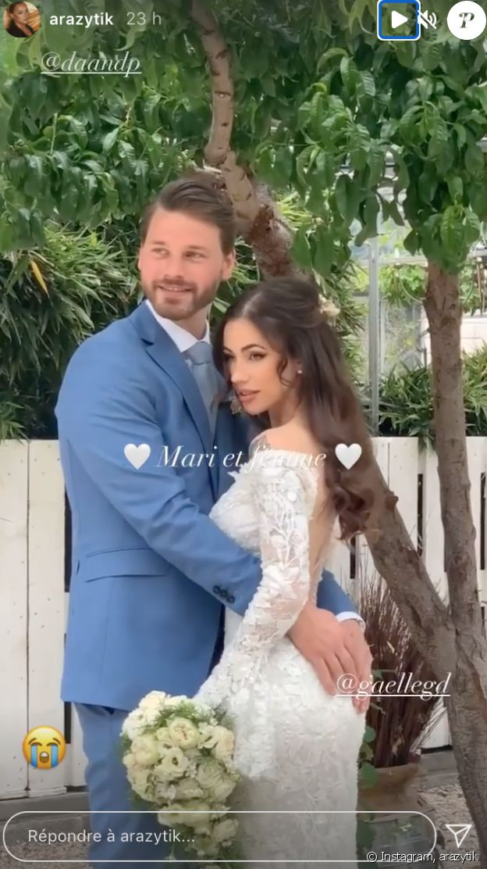 Mariage de Gaelle Garcia Diaz et Daan De Peever. 9 Mai 2021.