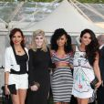 """Jade Thirlwall, Perrie Edwards, Leigh-Anne Pinnock, Jesy Nelson - Soirée """"Glamour women of the year awards"""" à Londres. Le 29 mai 2012."""