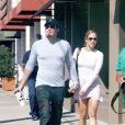 Jennifer Lopez et Ben Affleck à Hollywood en 2003.