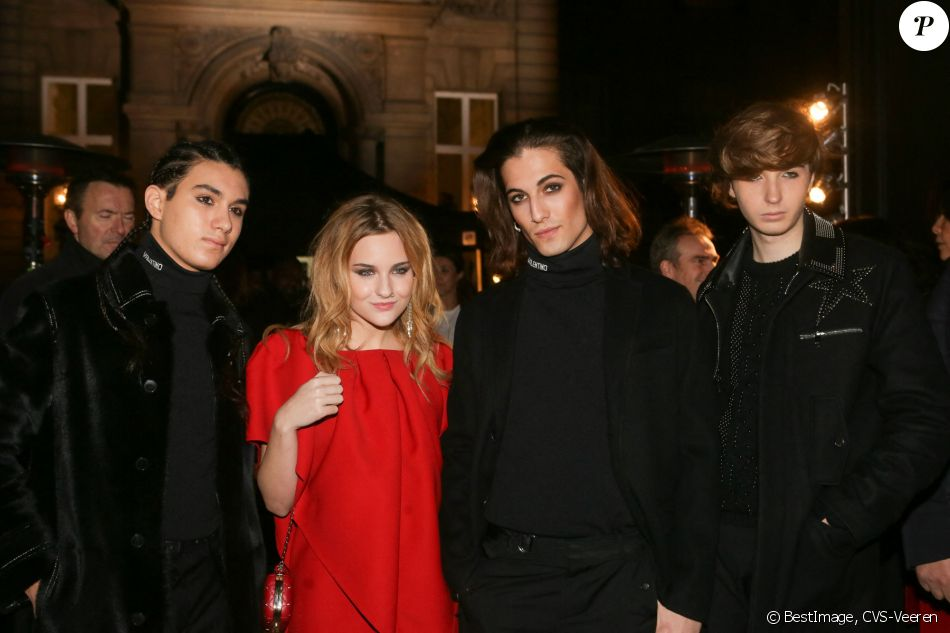 Ethan Torchio, Victoria De Angelis, Damiano David, et ...
