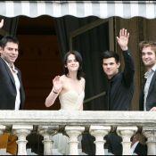 Découvrez les images de Robert, Kristen et Taylor dans leur hôtel... La folie Twilight s'est emparée de Paris !