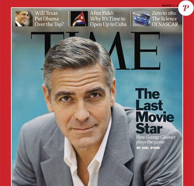 George Clooney en couverture du Time