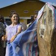 Le 12 novembre, la princesse Victoria de Suède a délaissé Nairobi pour participer aux activités d'une école. Sous le soleil du Kenya, elle avait opté pour une robe légère bleu lavande...