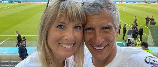 Euro 2021 : Nagui et sa femme Mélanie Page, Valérie Bègue... tous unis pour applaudir la France !