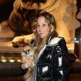 Carla Marie, la fille de Sophie Favier, ravie Gala de la Truffe, à la maison Lancel. Elle a emmené son chihuahua ! 16/11/09