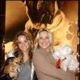 Sophie Favier et sa fille Carla Marie au Gala de la Truffe, à la maison Lancel. 16/11/09
