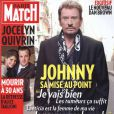 Johnny Hallyday en couverture de Paris Match
