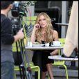 Kristin Cavallari en tournage pour les besoins de l'émission  Lopez Tonight  à Los Angeles