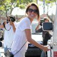 Audrina Patridge faisant ses courses au Whole Foods Market à Los Angeles
