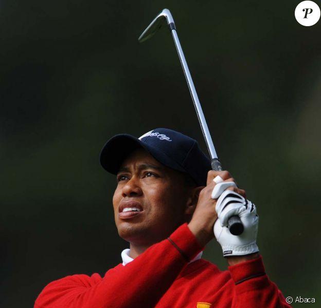 Tiger Woods, victime d'une accident de voiture, dans la nuit du 26 au 27 novembre 2009