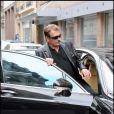 Johnny Hallyday est sorti de la clinique Monceau vendredi 27 novembre 2009.