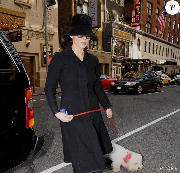 Catherine Zeta-Jones à New York, le 29 novembre 2009