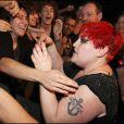Beth Ditto et The Gossip en concert à Londres, le 28 novembre 2009.