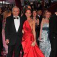 Dennis Hopper et sa femme Victoria Duffy à la cérémonie des Oscars 2008