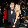 Jude Law et Sienna Miller à l'apoque de leur histoire d'amour, le 15 octobre 2004.