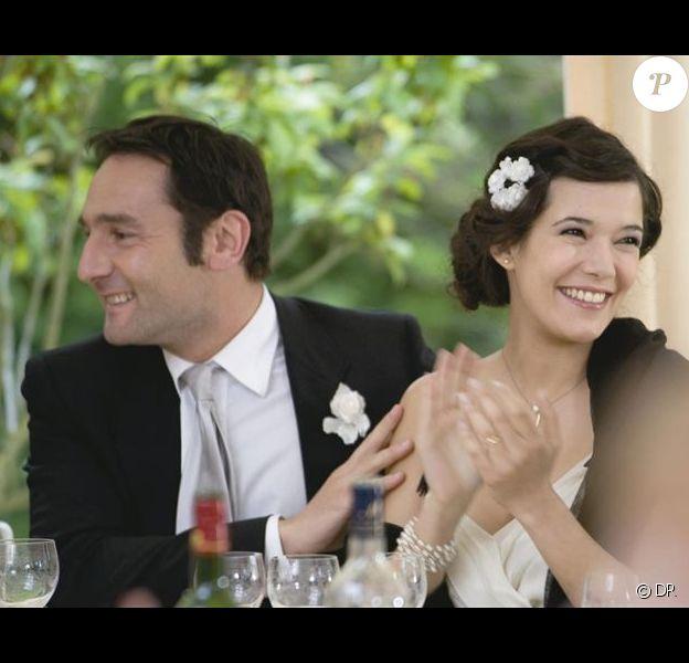 Gilles Lellouche et Mélanie Doutey dans le film Une petite zone de turbulences