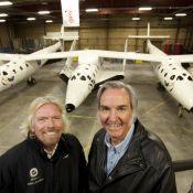 Découvrez l'incroyable navette avec laquelle Richard Branson va vous faire... visiter l'espace !