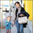 Violet et sa maman Jennifer Garner