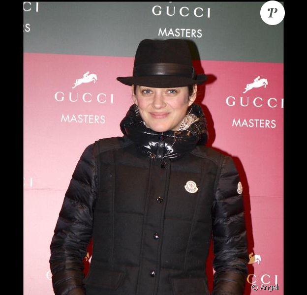 Marion Cotillard à la soirée Gucci Masters le 13/12/09 à Villepinte