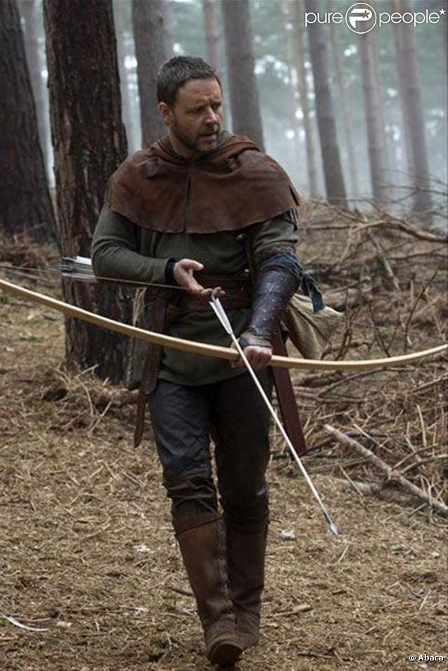 Russell Crowe, bientôt à l'affiche de  Robin des Bois  !