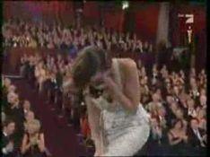 VIDEO : Regardez la réaction de Julie Christie à la victoire de Marion Cotillard lors des Oscars...