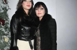 Daisy Lowe avec sa mère ou la belle Rosie Huntington-Whiteley : une délicieuse soirée... made in london !