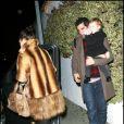 Jessica Alba et sa petite famille à Los Angeles le 18/12/09