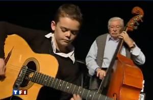 Swan Berger : regardez et écoutez le petit prodige du jazz manouche... du haut de ses 12 ans !