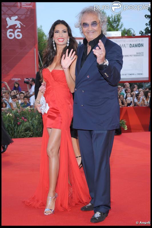 Flavio Briatore et Elisabetta Gregoraci