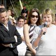 Nicolas Sarkozy, Carla Bruni et sa maman Marisa Bruni-Tedeschi