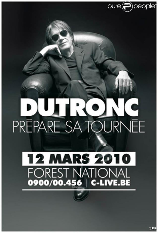 Jacques Dutronc remonte sur scène en 2010