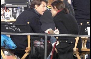 Tom Cruise et Katie Holmes s'aiment passionnément, à la folie... sous les yeux de leur petite Suri !