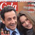 Le magazine Gala dans lequel figure l'interview de Sandrine, femme de Mouss Diouf