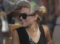 Lindsay Lohan : Avant de se bagarrer... elle était pourtant si calme !