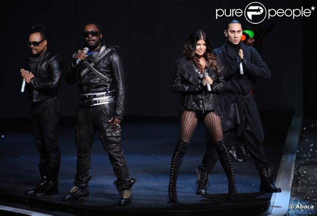 Fergie et les Black Eyed Peas