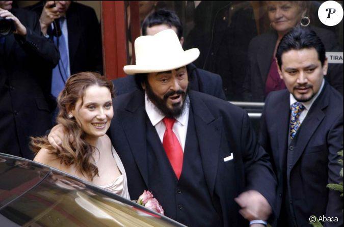 Mariage de nicoletta mantovani et luciano pavarotti le 13 for Nicoletta mantovani pavarotti
