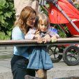 Nicoletta Mantovani a décidé de raconter son expérience, spectatrice de la mort lente de Luciano Pavarotti, et trouve des motifs de bonheur dans leur fille Alice (photo : 2007)