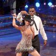 Carl Lewis et sa partenaire Nataly Betty participent à la version italienne de Dancing With The Stars. 10/01/2009