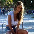 Alessandra Ambrosio en plein photoshoot à Miami Beach