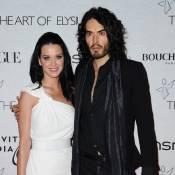 Katy Perry et Russell Brand : En total look black & white, le couple d'amoureux... est superbe !