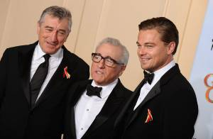 Regardez Robert de Niro et Leonardo DiCaprio rendre hommage à Martin Scorsese... et révéler sa vidéo interdite !
