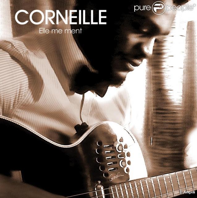 Pochette du single Elle me ment de Corneille dont le clip a été tourné le 18 janvier  à Paris