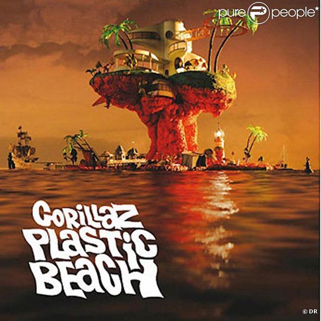 Gorillaz revient en mars 2010 avec un troisième album,  Plastic Beach , annoncé par le single  Stylo