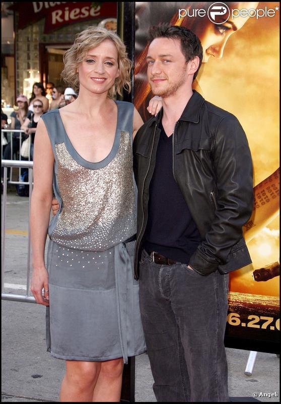 James McAvoy couple
