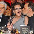 Mario Adorf, Claudia Cardinale et Franco Nero lors des DIVA Awards à Munich le 26 janvier 2010