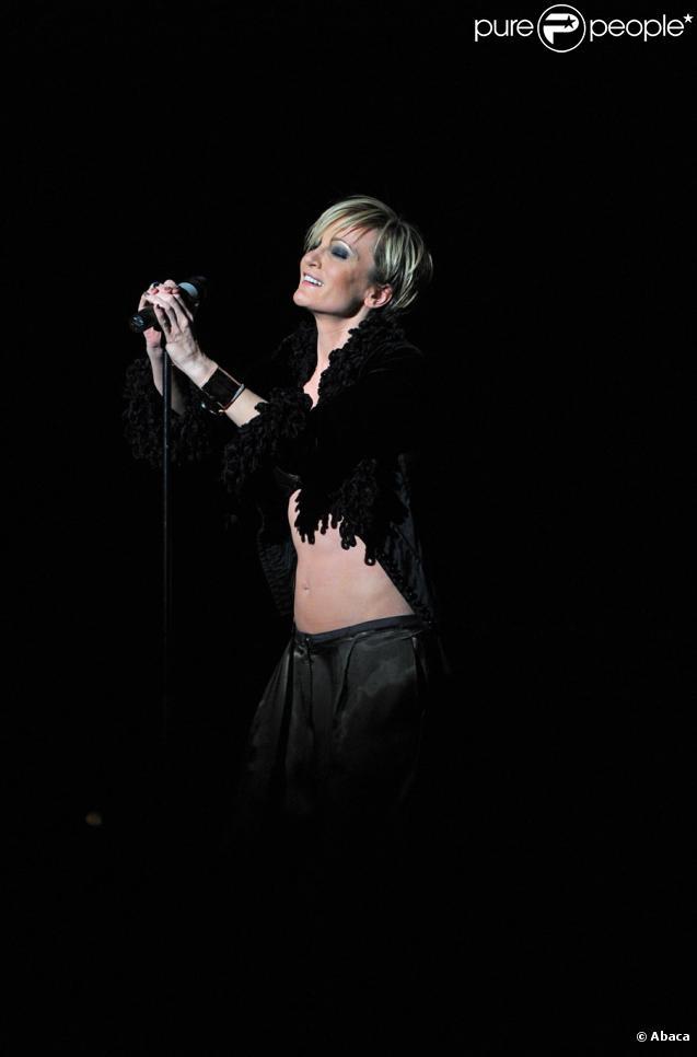 Patricia Kaas lors des DIVA Awards à Munich le 26 janvier 2010