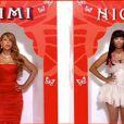 Mariah Carey et Nicki Minaj dans le clip de  Up Out My Face