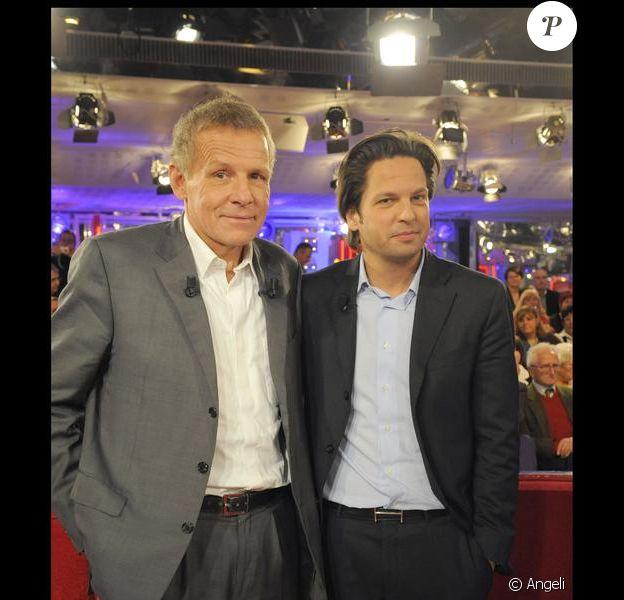 Patrick Poivre d'Arvor et son fils Arnaud (enregistrement du 27.01.10/Paris)