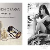 Charlotte Gainsbourg, sublime pour le tout premier parfum Balenciaga...