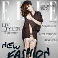 Liv Tyler en couverture de Elle UK Mars 2010